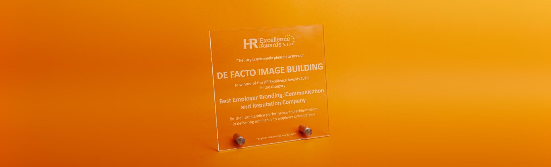 HR Excellence Award winner